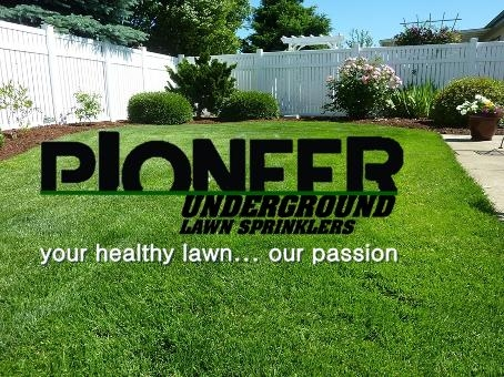 Pioneer Underground Lawn Sprinklers Systems Omaha